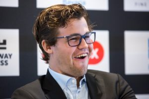 Carlsen Million Dollar Smile