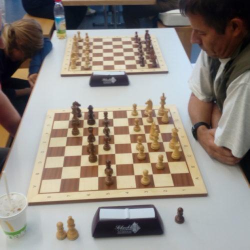 Gegen Joachim Heinze ist nur schwer zu gewinnen.