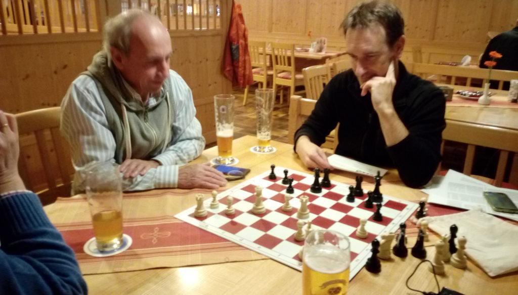 Schachtraining in Geisenbrunn