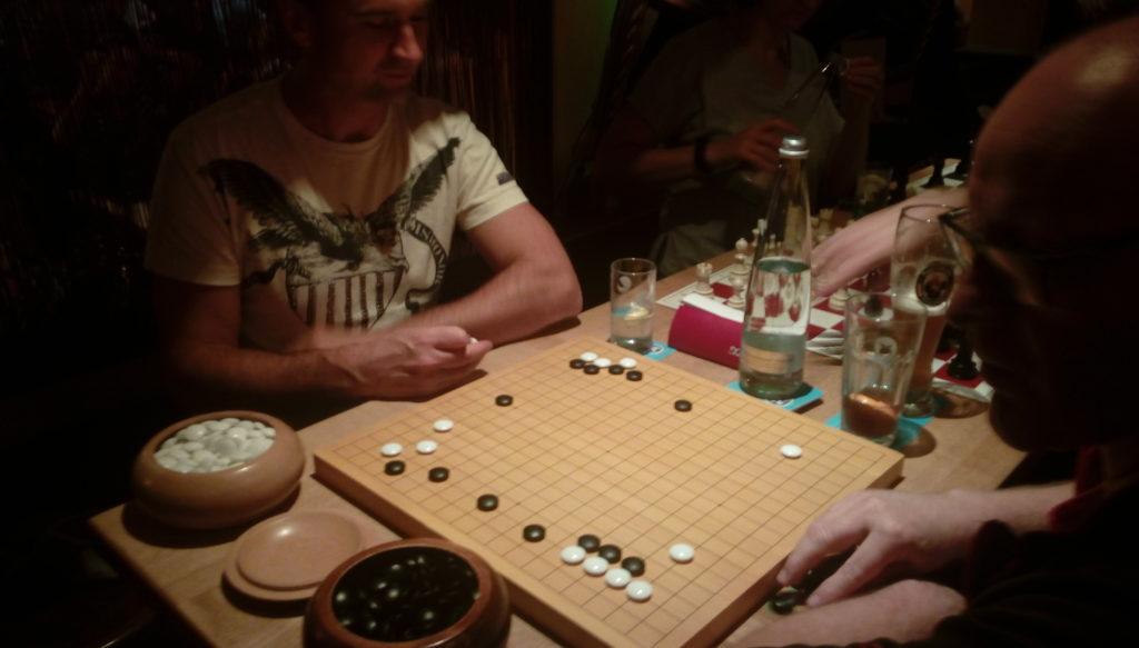 GO Spiel Ralf gegen Thomas